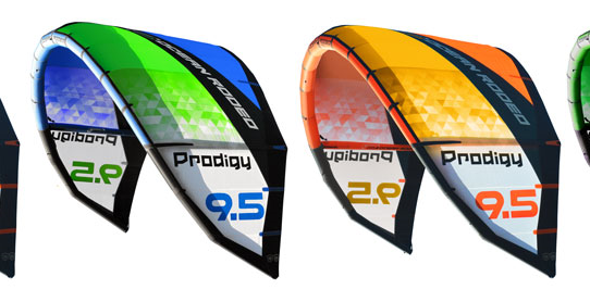 ocean rodeo prodigy colours