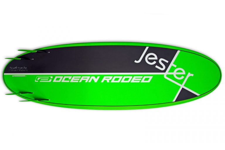ocean rodeo jester bottom with fin setup